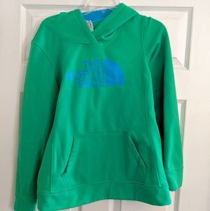 Green Women's North Face Hoodie